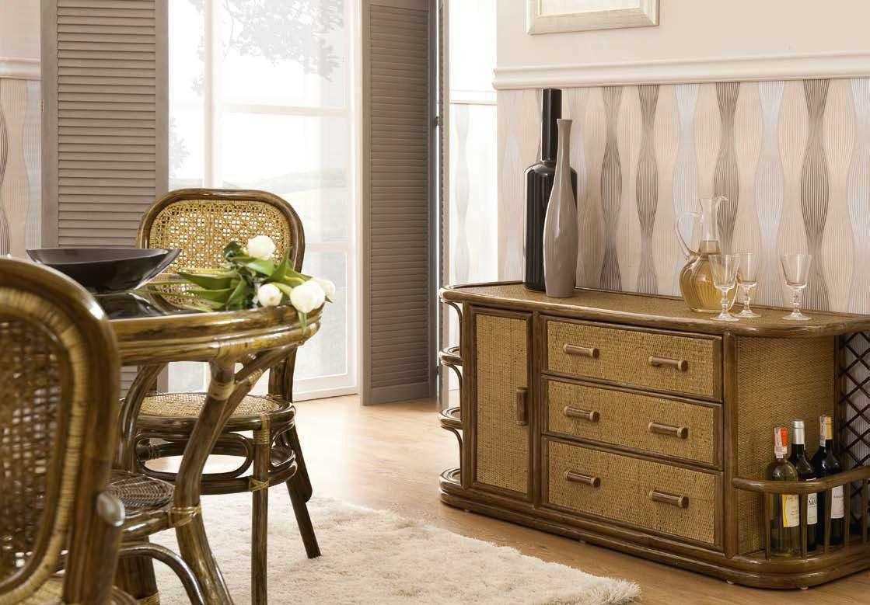 Как использовать в интерьере мебель из ротанга_4