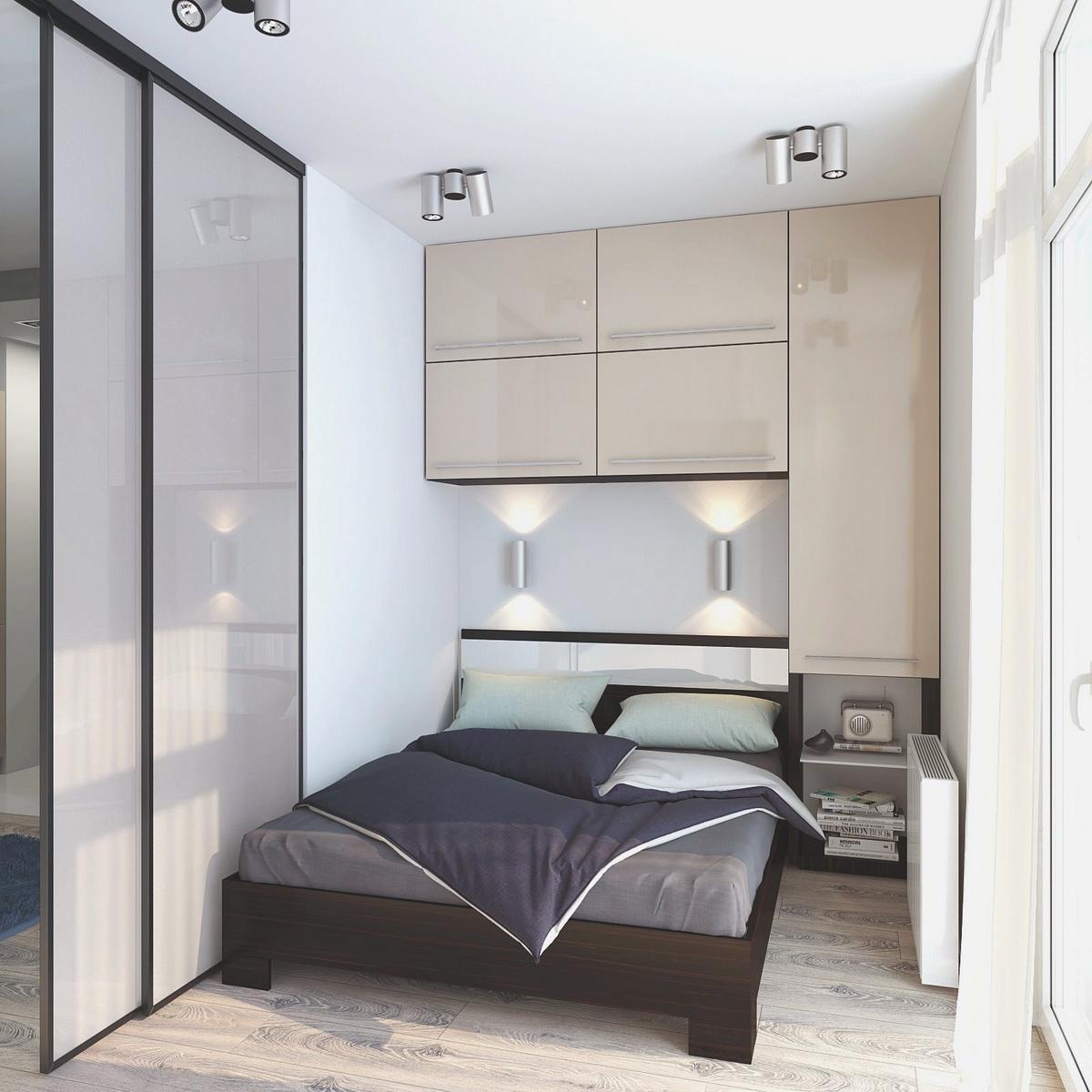 Выбираем мебель в маленькую спальню 2