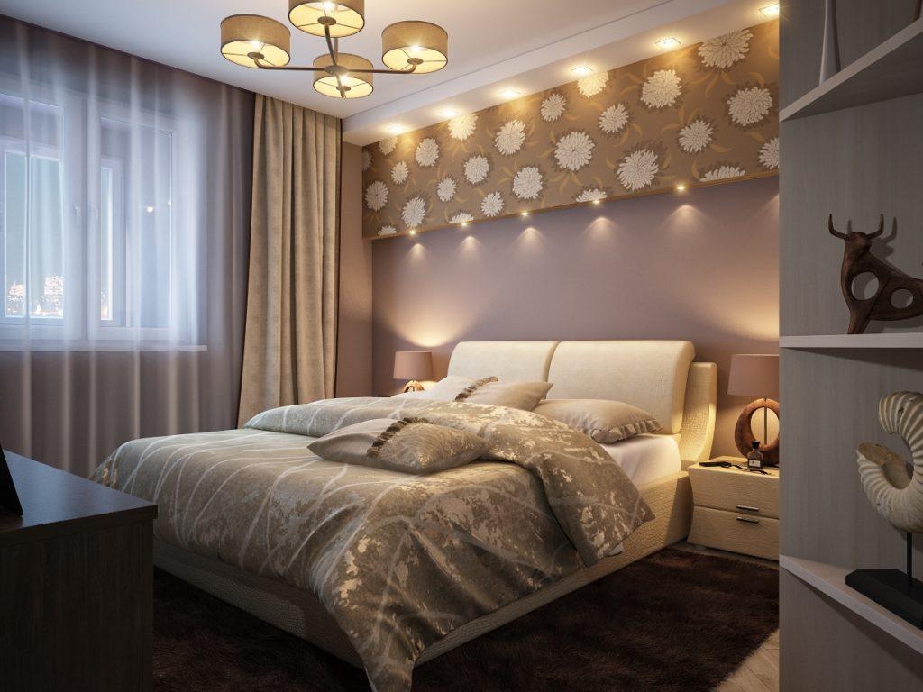 Как обустроить интерьер спальни_5