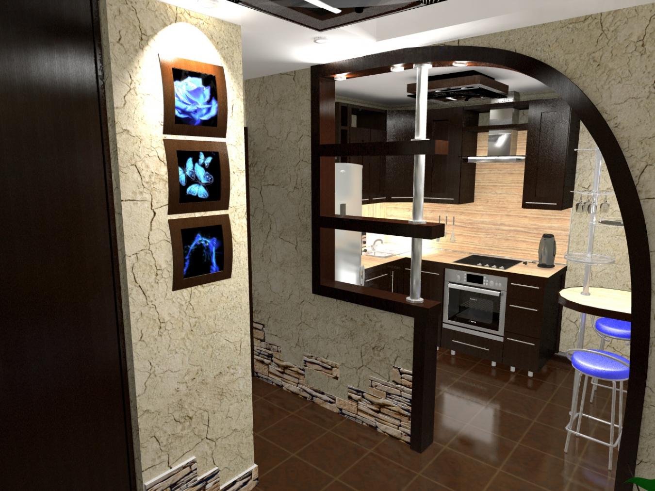 Почему нельзя объединять кухню с коридором_1