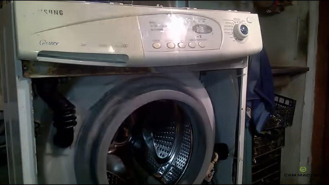 Почему течет вода из стиральной машины_1