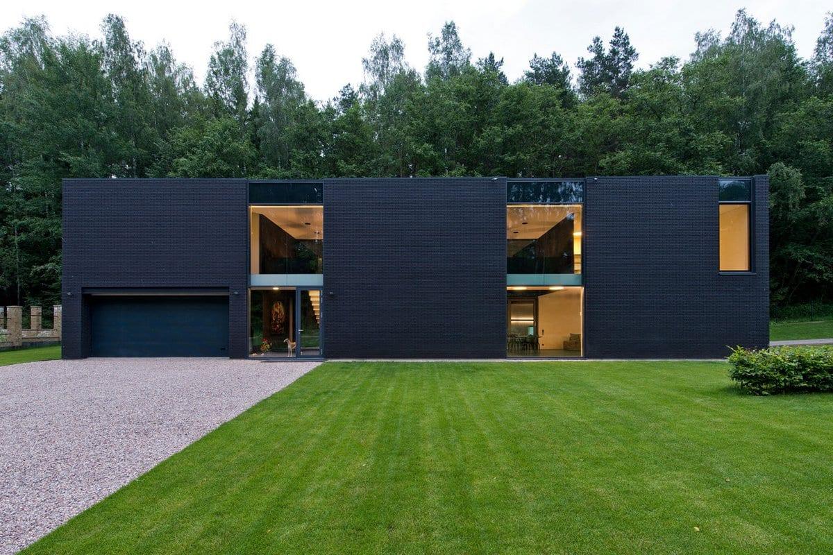 Architectural bureau g. natkevicius & partners luxury house