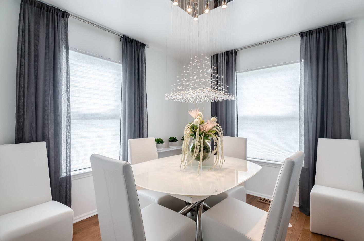 Зачем нужна столовая в интерьере квартиры_5