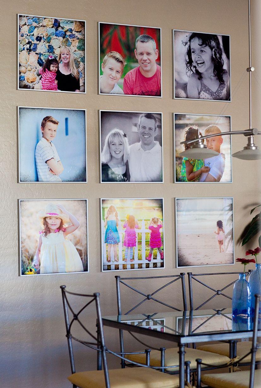 Как украсить стены квартиры фотографиями - Отделка