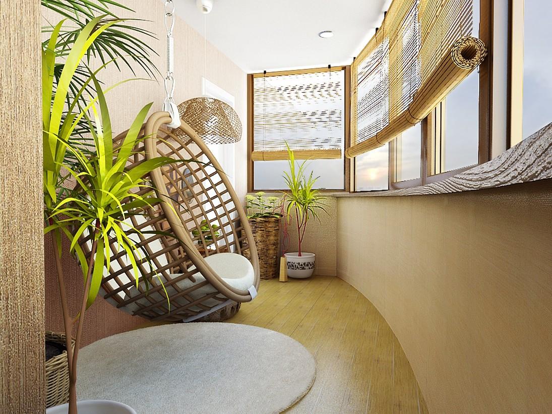 Как оформить уютную лоджию в квартире_
