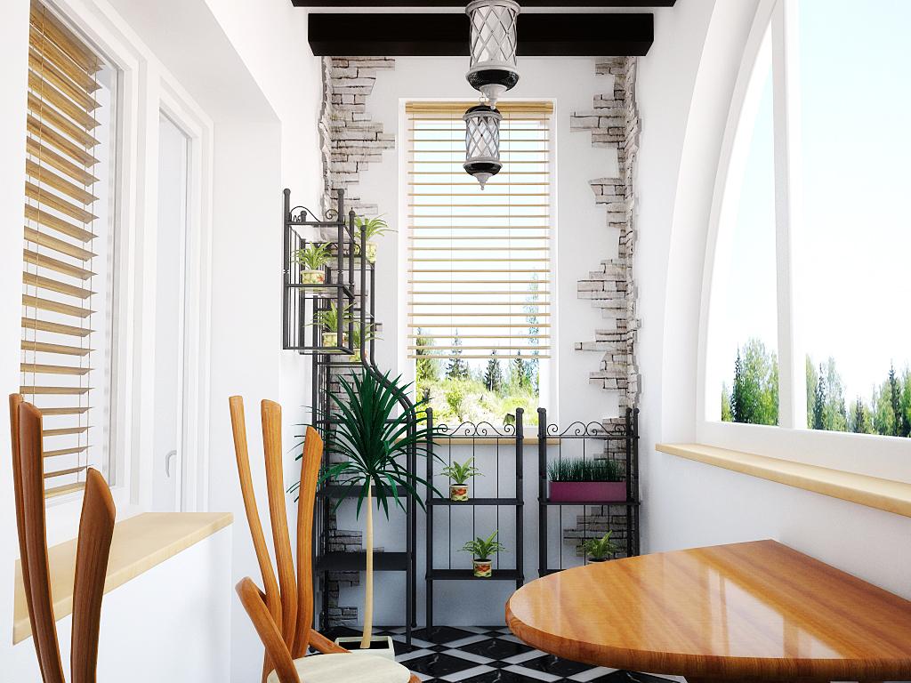Как оформить уютную лоджию в квартире_3