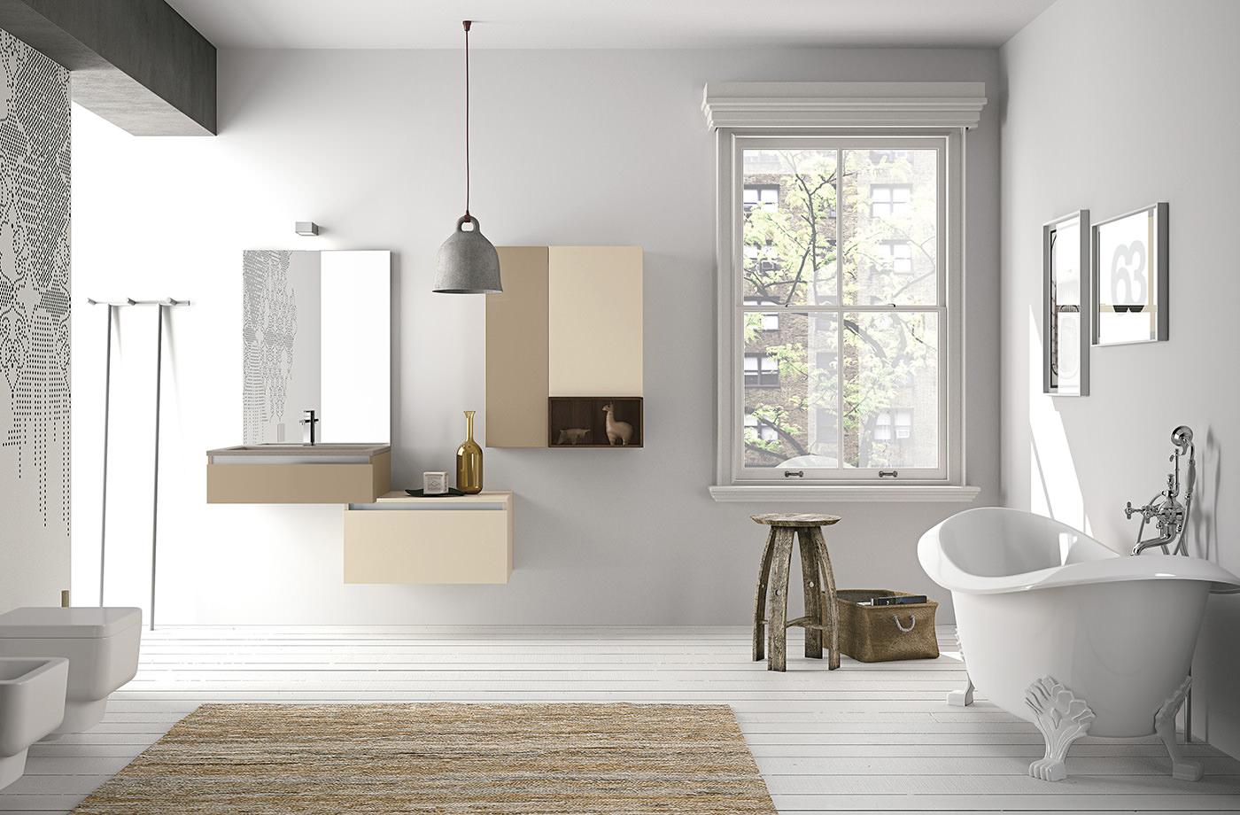 Ванная в скандинавском стиле: удобство и простота - Интерьер