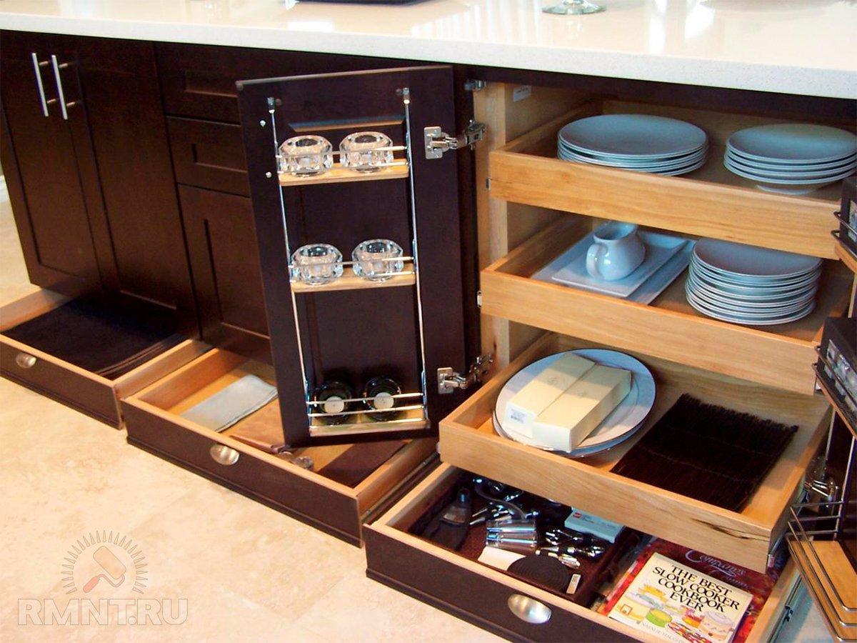 Ящики в цоколе кухни_5