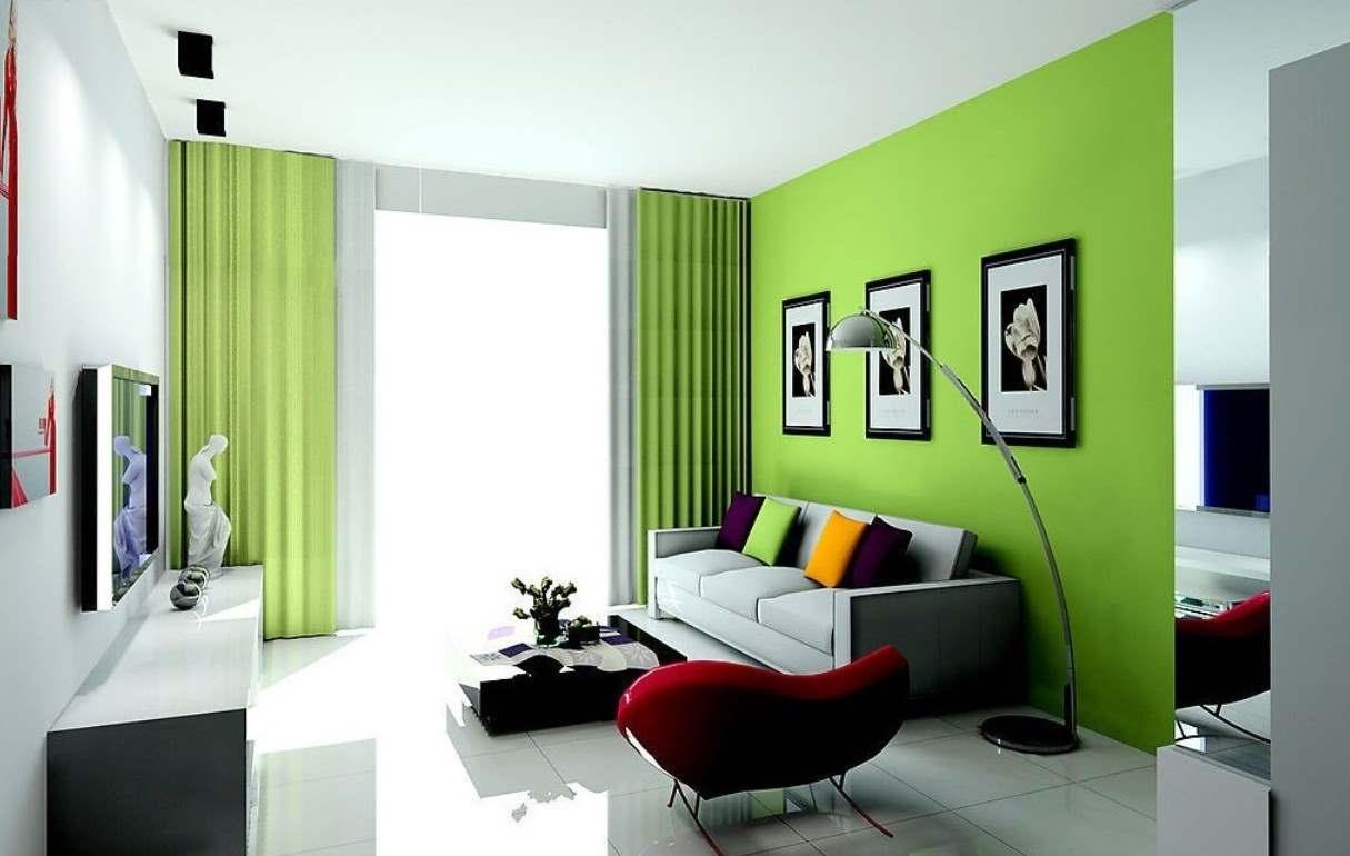 Как оформить интерьер в зеленых тонах_1