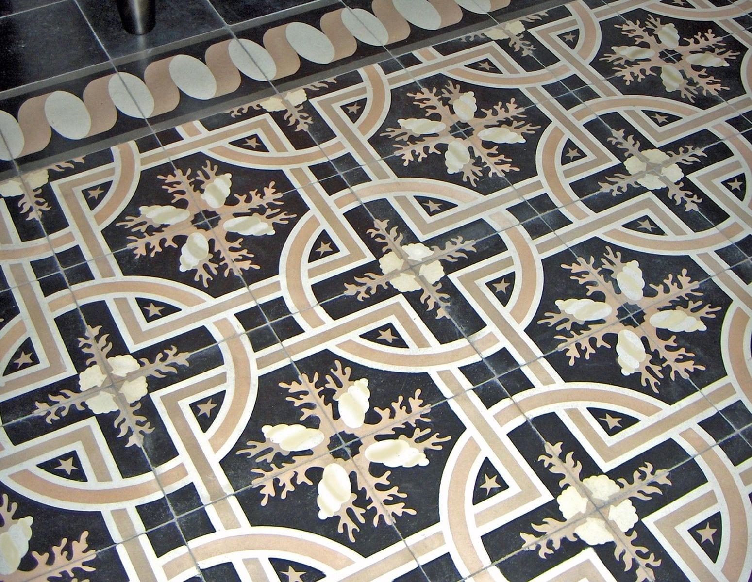Цементная плитка: дизайнерская плитка из цемента ручной работы с узором
