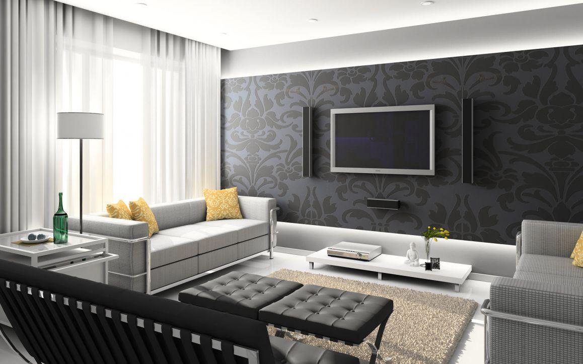 Как обустроить гостиную в стиле хай-тек