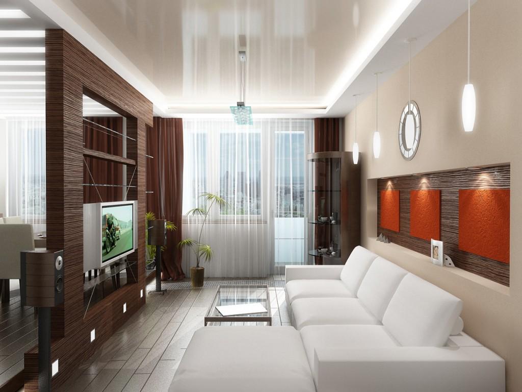 Дизайн маленькой гостиной_1