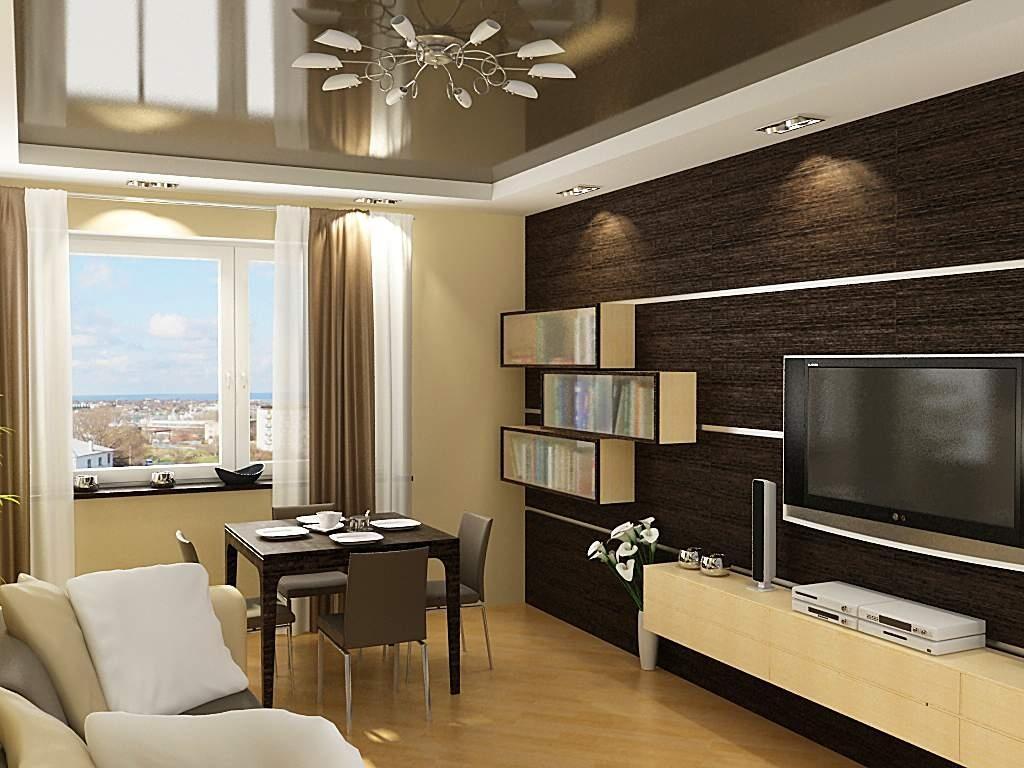 Дизайн маленькой гостиной_4