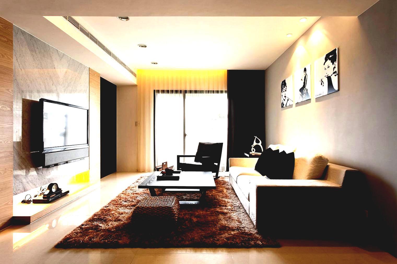 Дизайн маленькой гостиной_6