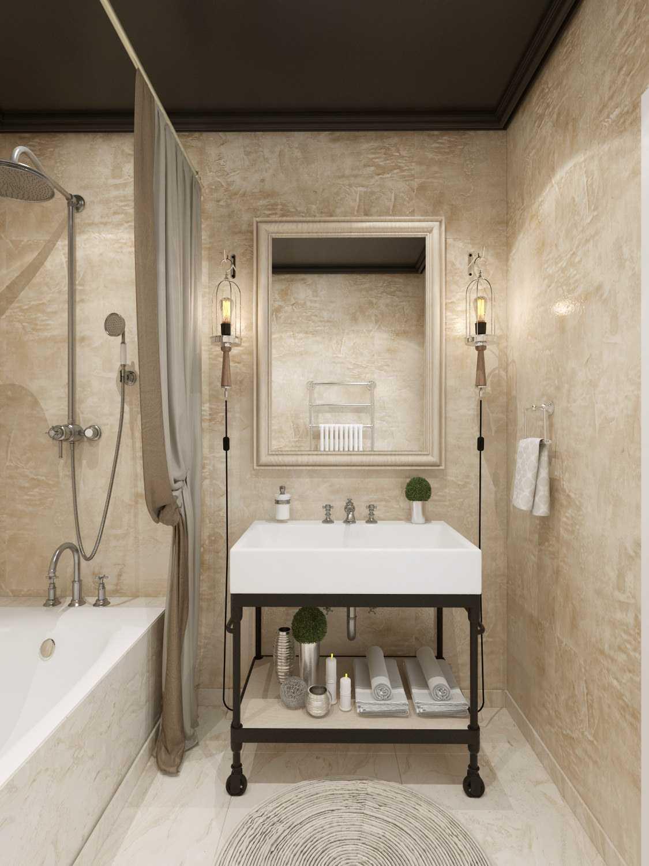 Какие материалы подойдут для ванной вместо плитки_4