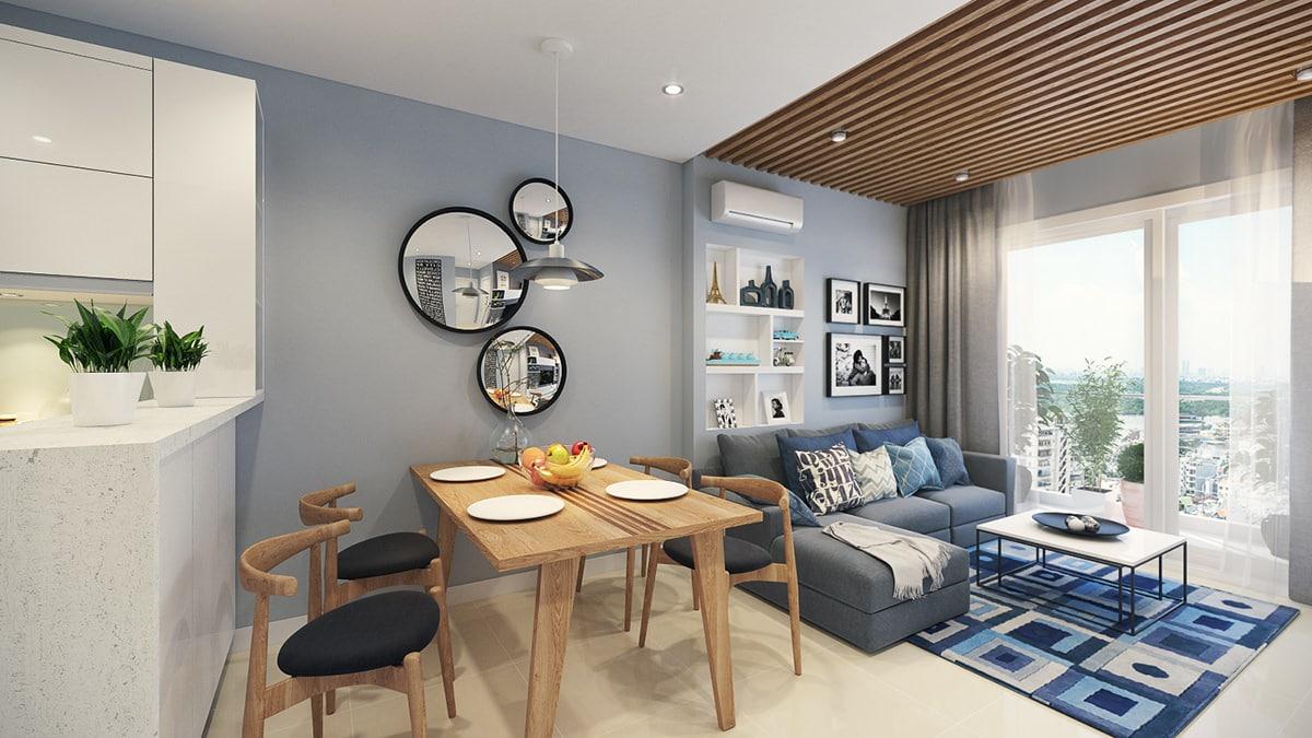 красивый интерьер маленькой квартиры_1
