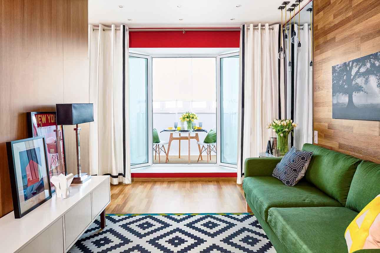 красивый интерьер маленькой квартиры_5