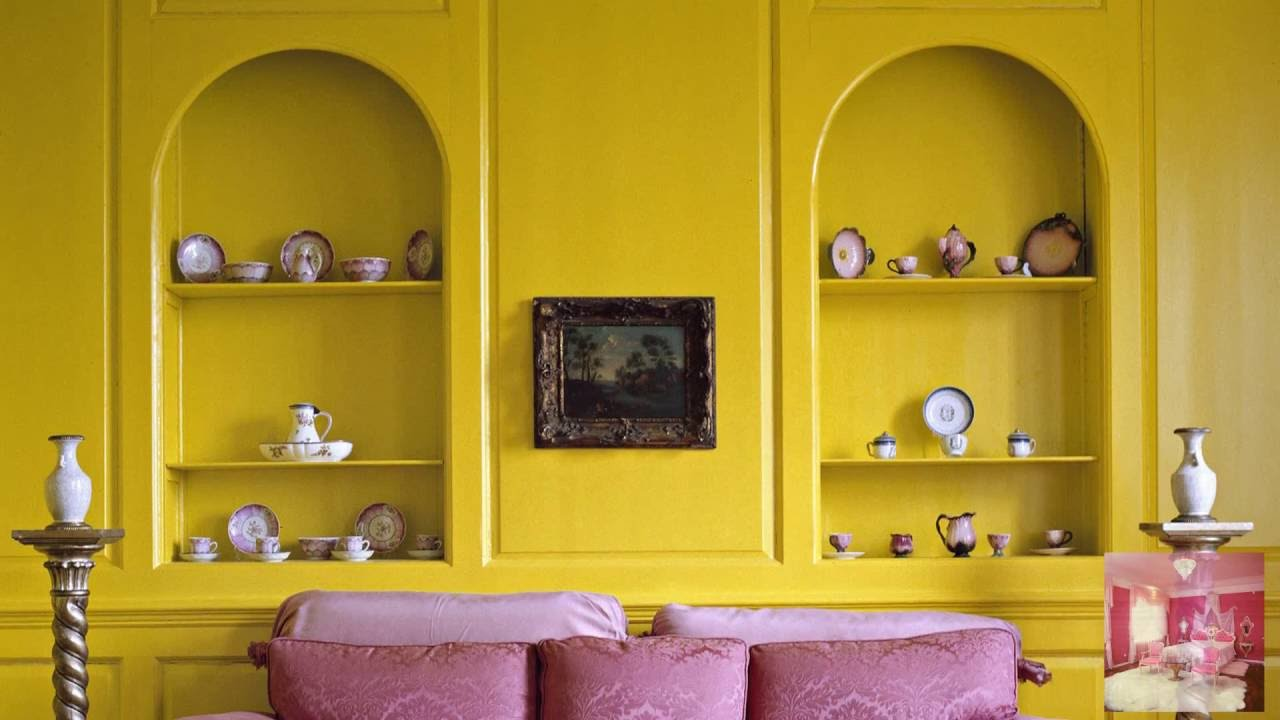 Стоит ли выбирать желтый цвет для отделки гостиной