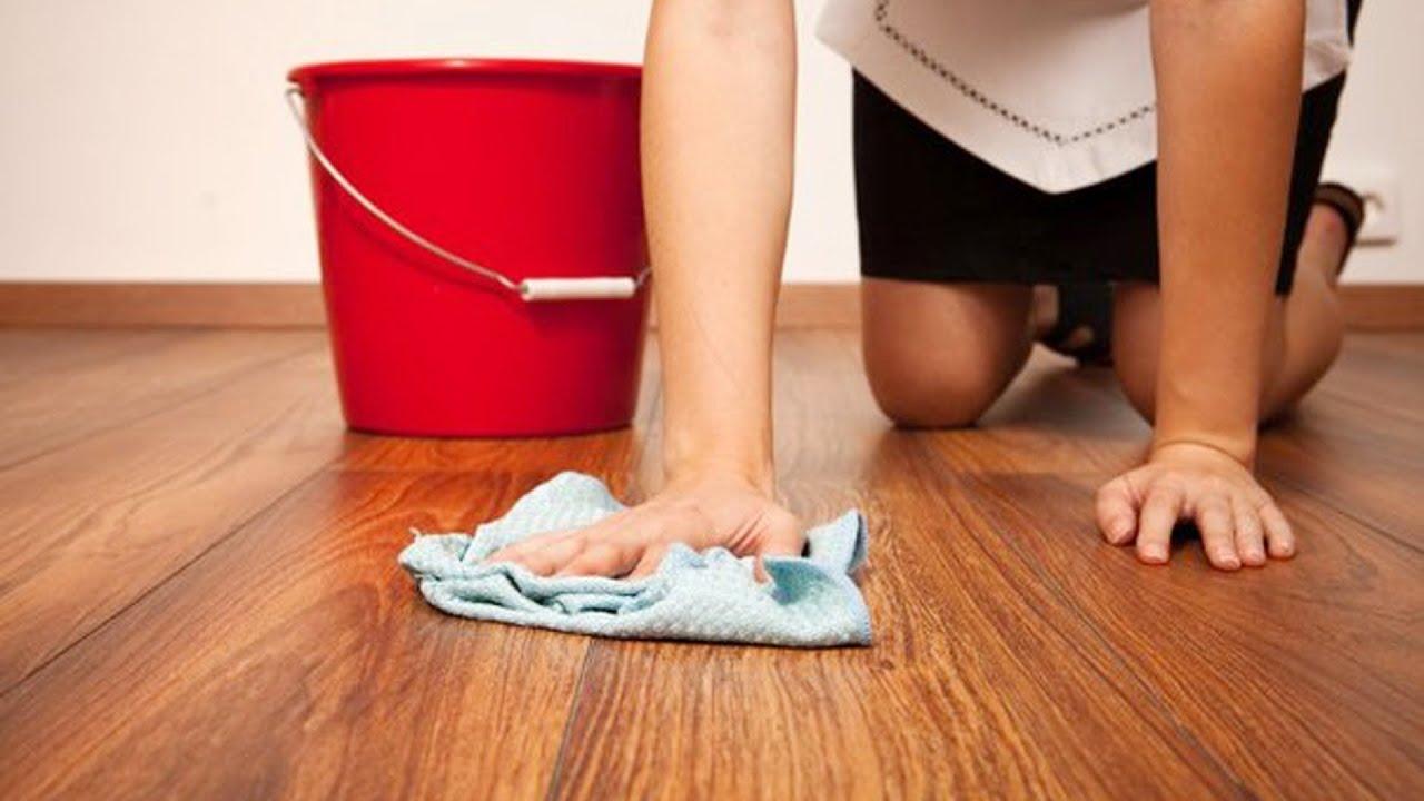 Как убрать пятна с линолеума