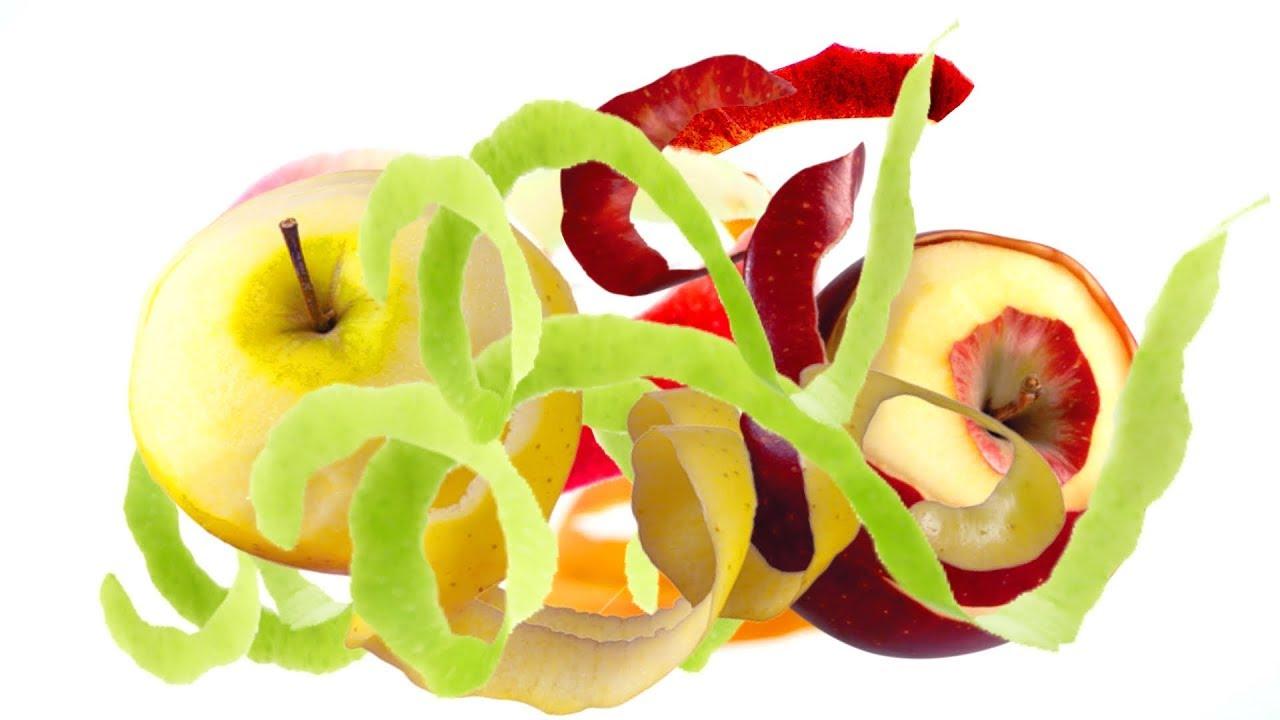 Яблочные очистки для удаления накипи