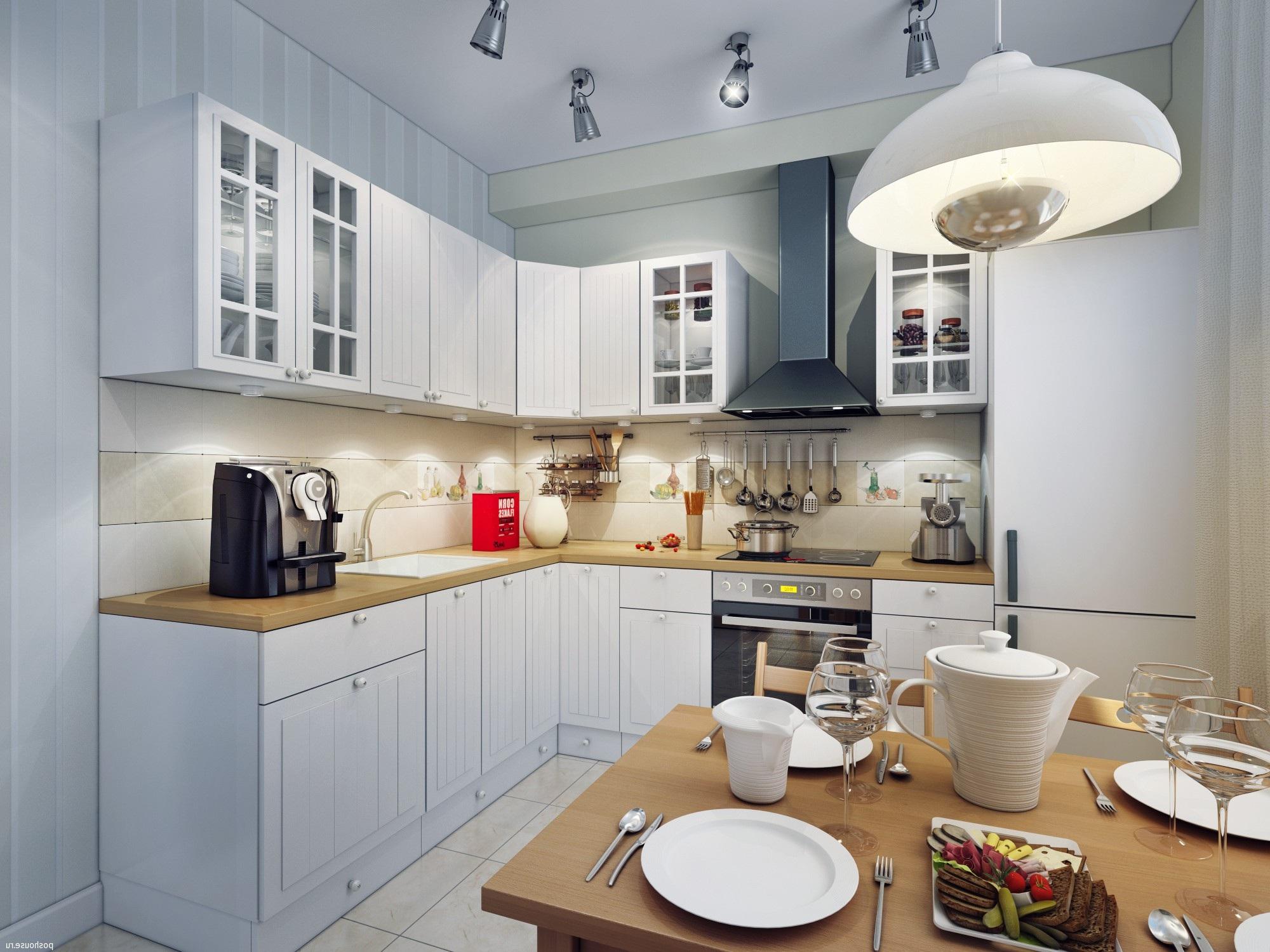 Как правильно создать комфортное освещение на кухне
