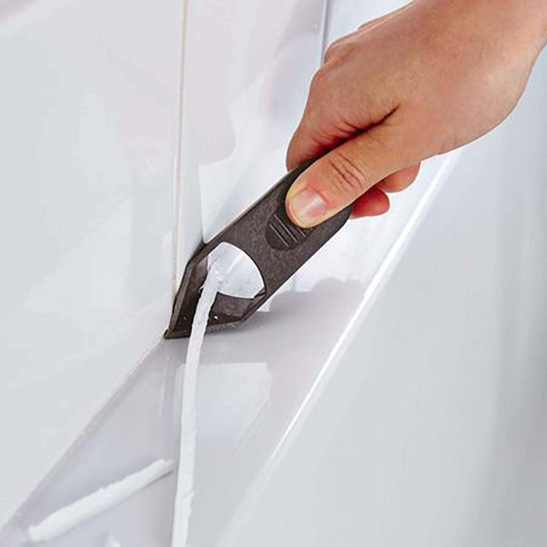 Как удалить силиконовый герметик с различных поверхностей
