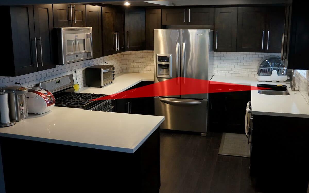 Как расположить мебель на кухне_2