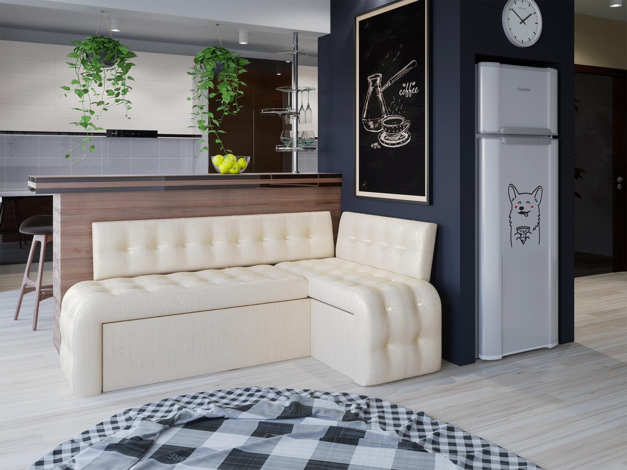 мягкая мебель пригодится на любой кухне