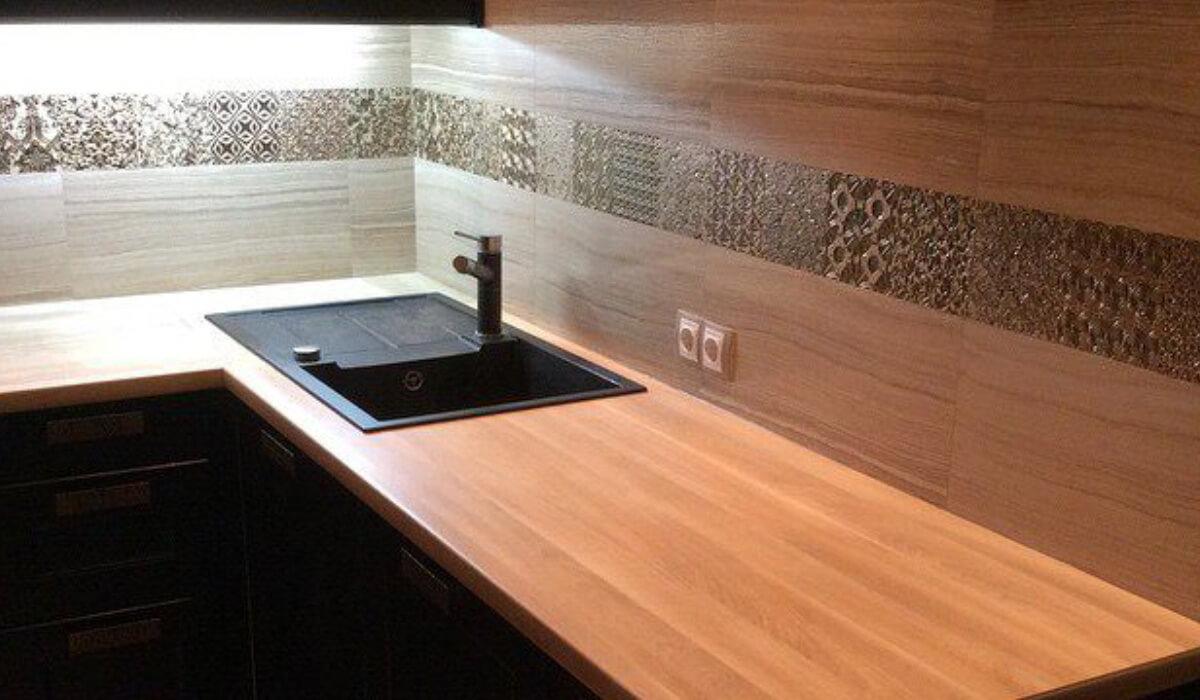 5 особенностей кухонных столешниц из ДСП