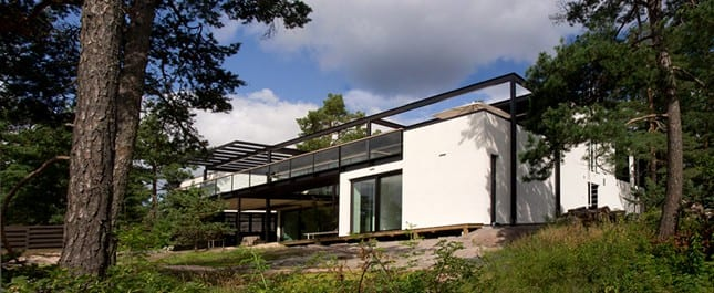Villa Snow White от Helin & Co Architects в Эспоо, Финляндия