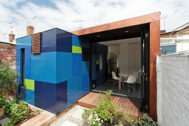 Миниатюрный дом от 4site Architecture в Мельбурне