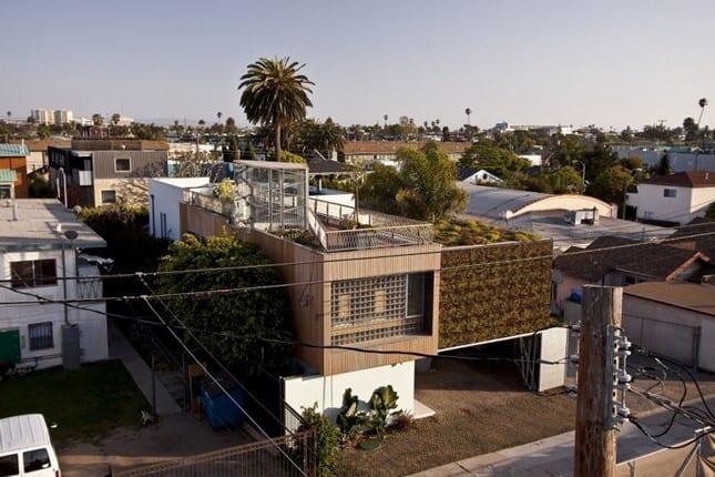 Цветущий дом в в Лос Анджелесе от Bricault Design