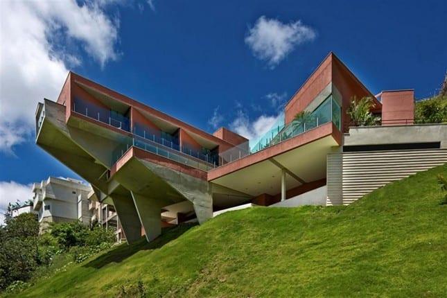 Роскошная резиденция Vila Castela от Anastasia Architects в Бразилии