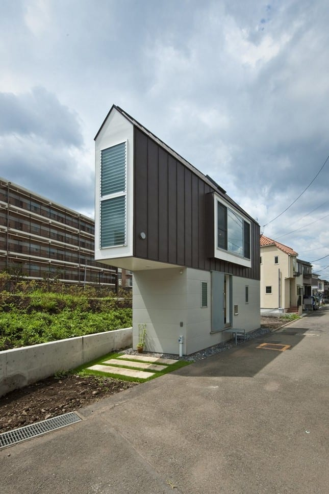 Треугольный дом River Side House от Mizuishi Architect Atelier
