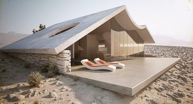 The Desert Villa от Studio Aiko (Видео)
