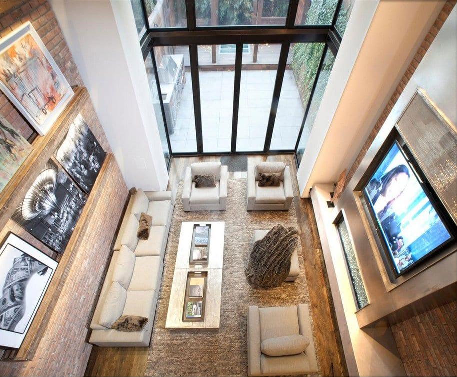7-этажный таунхаус в центре Нью-Йорка