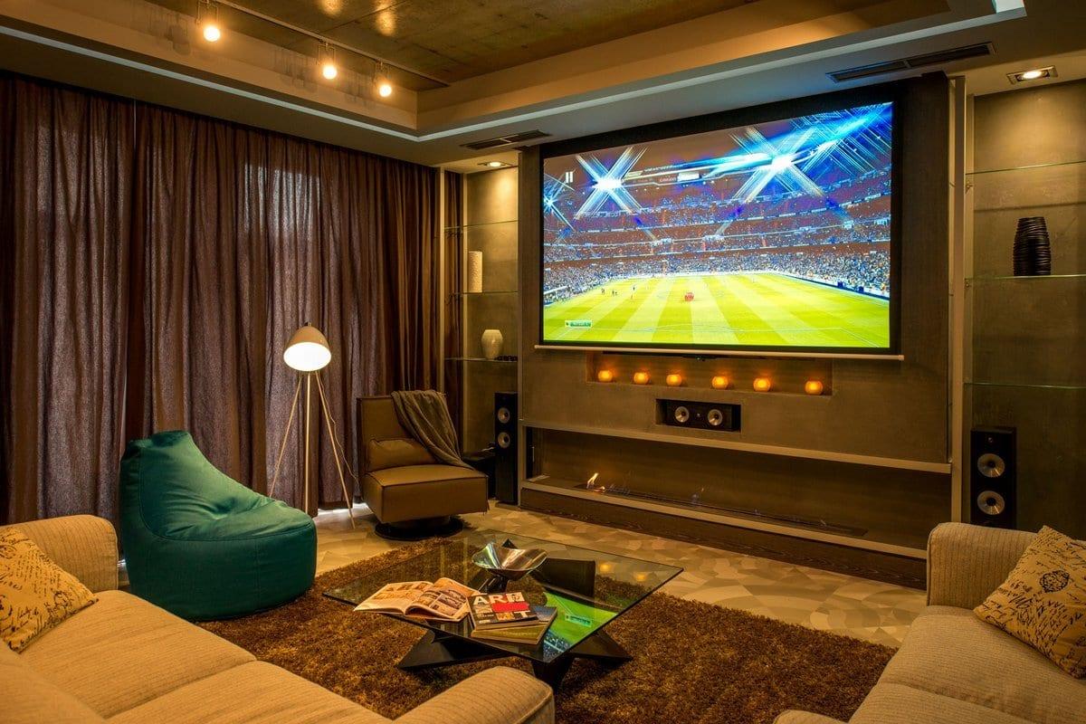 Апартаменты футболиста в Украине