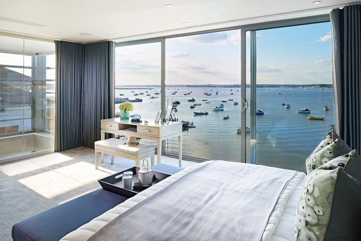 Апартаменты с видом на залив