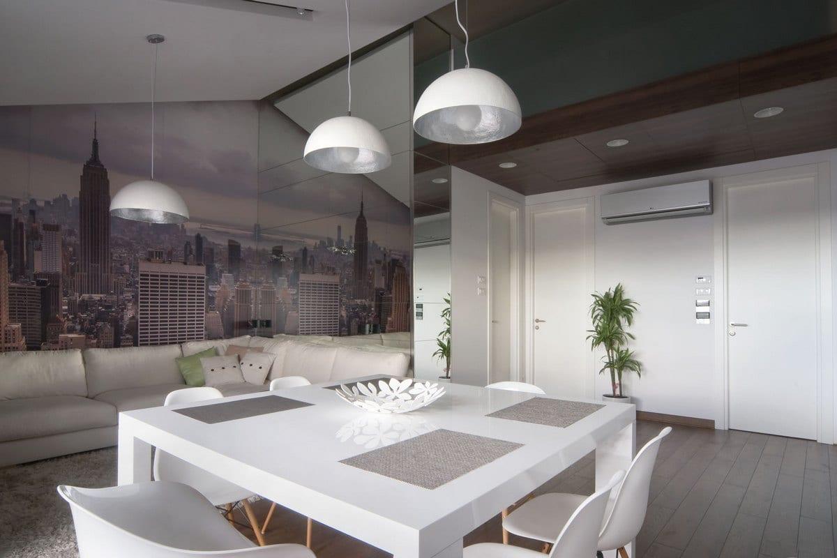 Апартаменты с панорамой на Белград