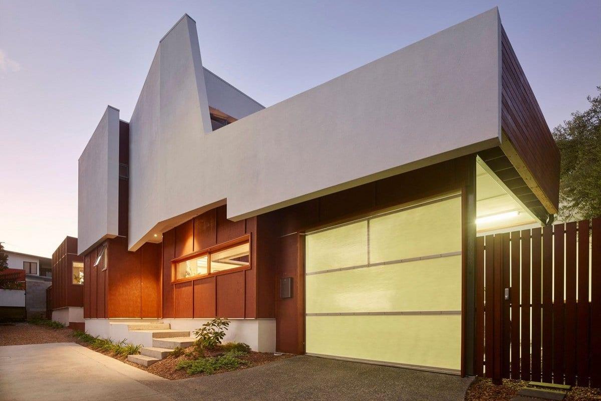 Частный дом шириной в 2 метра