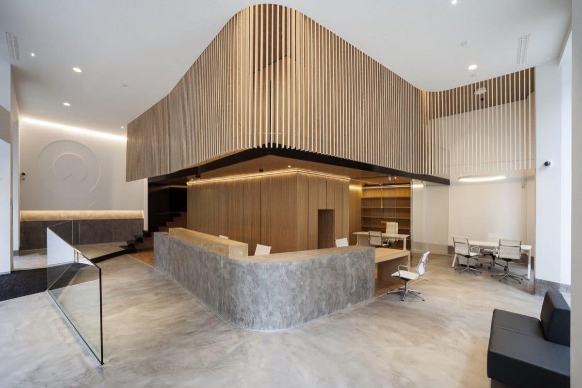 Дизайн офиса банка Arquia в Испании