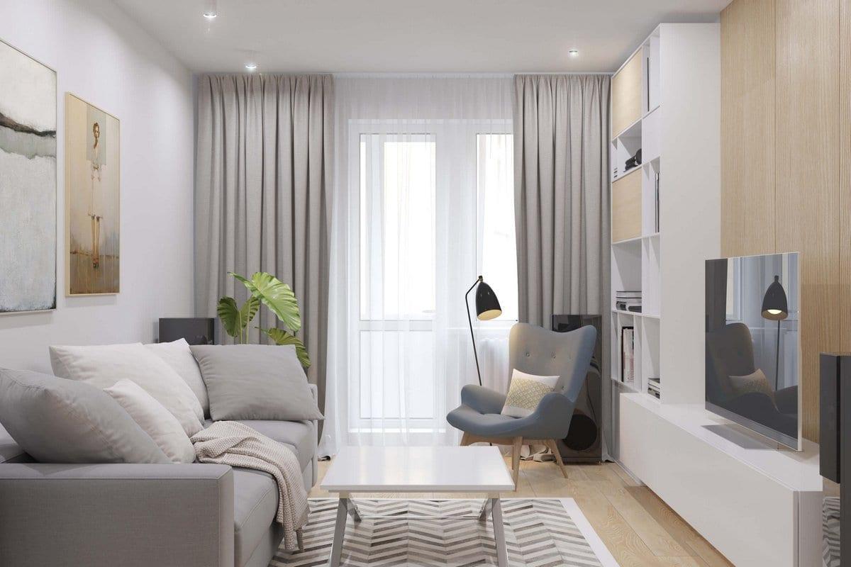 Дизайн-проект квартиры на Академика Анохина в Москве