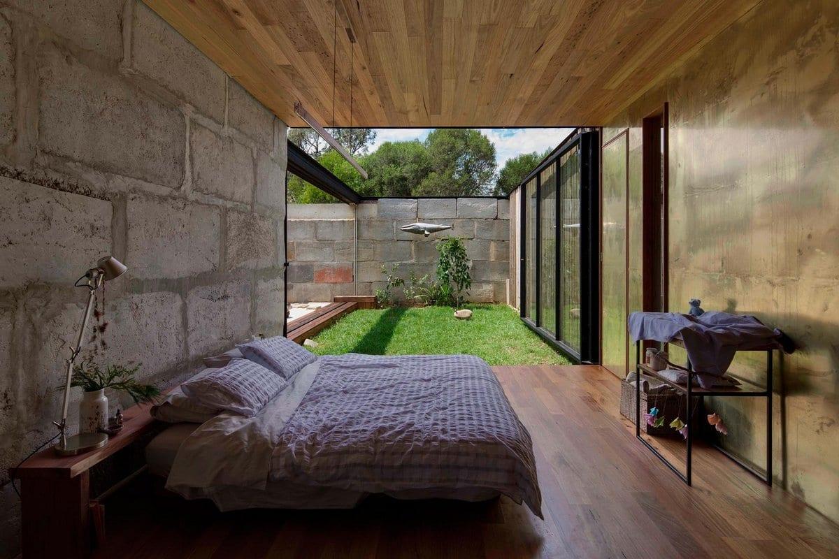Дом из бетонных блоков в Австралии