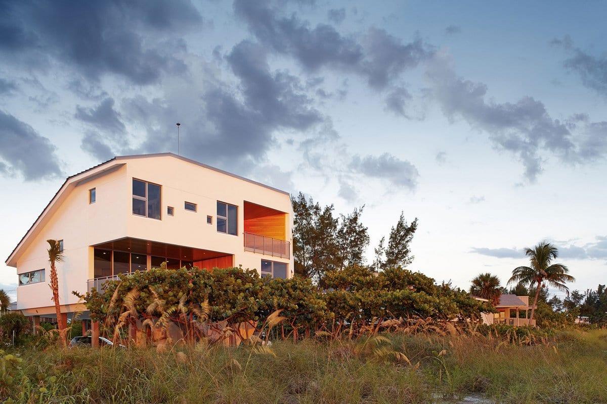 Дом на берегу Мексиканского залива во Флориде