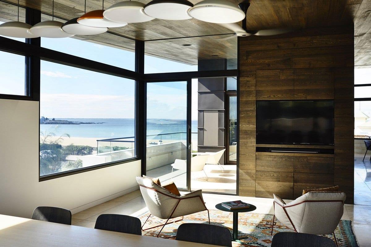Дом на берегу океана в Уильямстауне