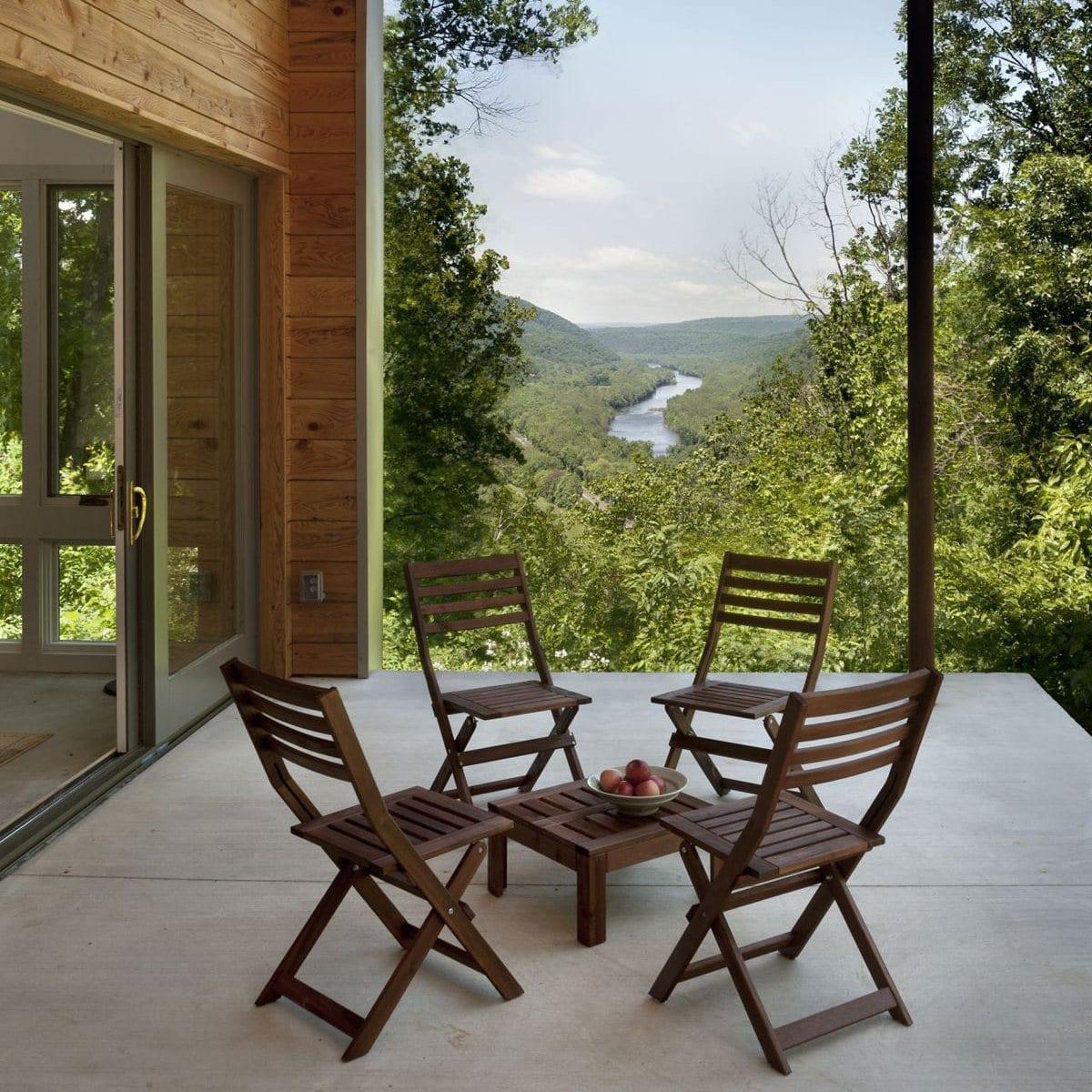 Дом в лесу с захватывающим видом на долину