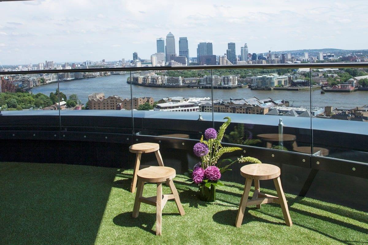 Двухэтажный пентхаус с панорамой на Лондон