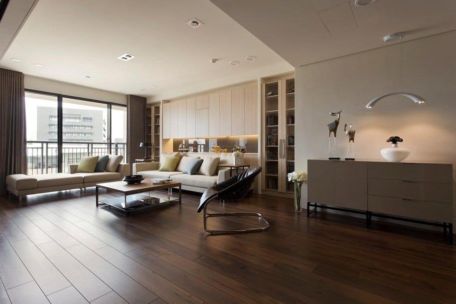 Двухкомнатная квартира в Китае от Fertility Design