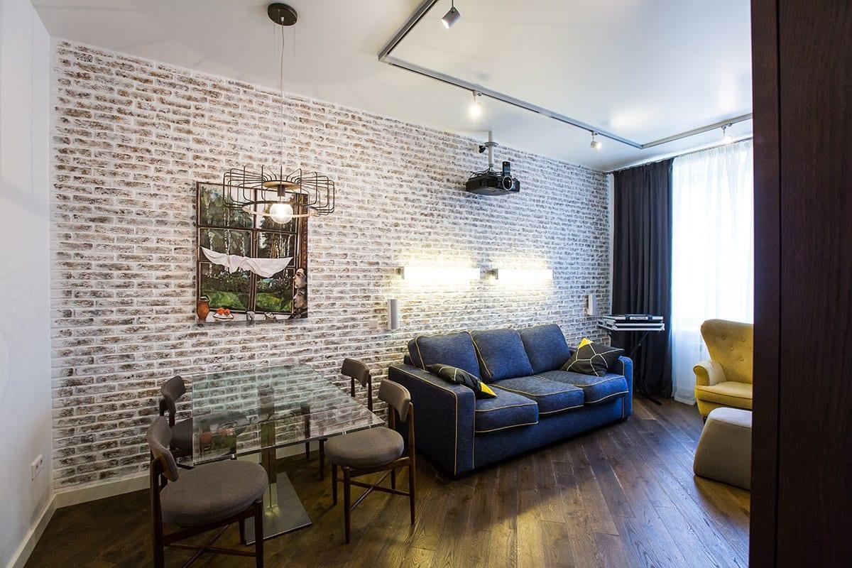 Двухкомнатная квартира в Москве от Uniquely
