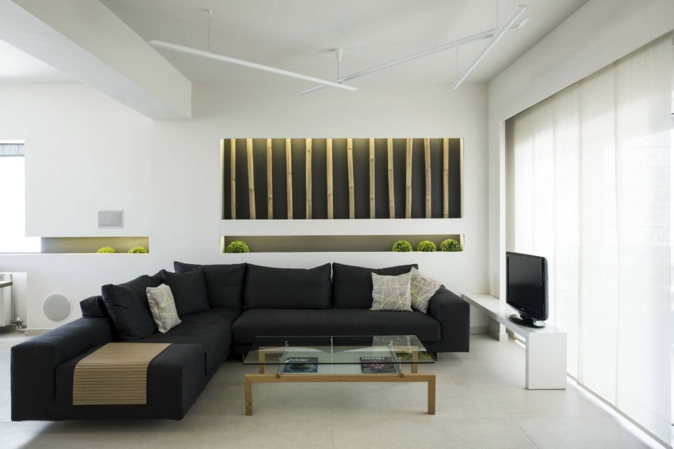 Элегантный интерьер небольшой квартиры в Афинах